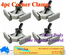 4 x 90°Corner Clamp,One Handle,Picture Frame Woodworking Welding Vice,Alloy Body