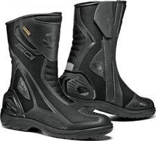 Bottes réfléchissants noirs pour motocyclette