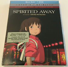 'Spirited Away' Blu-ray + Dvd 2-Disc Set (2017) Sealed Brand New Og w/Slipcover