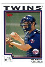 Joe Mauer 2004 Topps #559 4 Card Lot