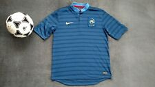 FRANCE FFF National Team 2012-2013 NIKE HOME FOOTBALL SOCCER JERSEY M