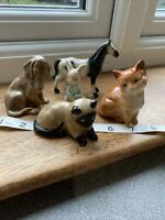 COLLECTION Of Animals BESWICK Ginger Cat Plus Mixture of Cat Dog Horse , Rabbit