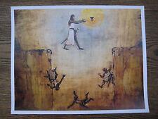 "Indiana Jones & the Last Crusade  Leap of Faith 8.5"" x 10-3/4"" Poster Print [T2]"