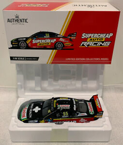 AUTHENTIC 1:18 FORD MUSTANG GT SUPERCARS SUPERCHEAP RACING 2019 CHAZ MOSTERT