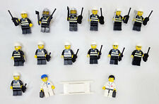 LEGO City/Town Lot of 15 Complete Firemen & Doctor MiniFigures Nice!