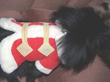"NEW dog RED winter coat   extra small    Dog winter coat x-small 10"""