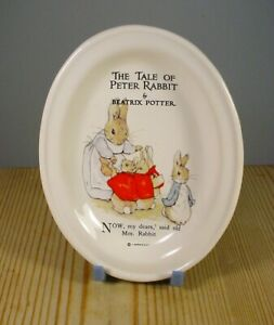 Beatrix Potter The Tale of Peter Rabbit Oval Pin Dish
