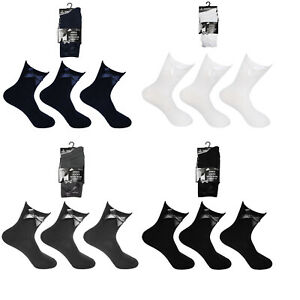 3, 6, 12 Pairs Girls Womens Ankle Bow School Socks Kids Cotton Stretch New Size