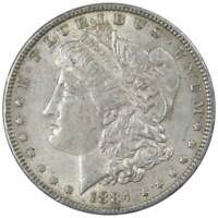 1884 Morgan Dollar XF EF Extremely Fine 90% Silver $1 US Coin Collectible