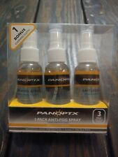 Panoptx Anti-Fog Spray for Glasses 3 Pack w/ Bonus Cleaning Cloth