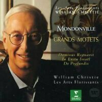 Cassanea de Mondonville - Grands Motets Les Arts Florissants  Christie [CD]