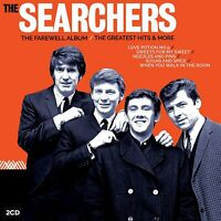 THE SEARCHERS : THE FAREWELL ALBUM/GREATEST HITS AND MORE - BRAND NEW SEALED CD=