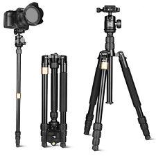 QZSD Q668S Portable Camera Tripod Monopod Ball Head Travel Photography for DSLR