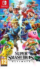 Super Smash Bros. Ultimate NINTENDO SWITCH ( VERSION NEUF SOUS BLISTER 15 UNIT )