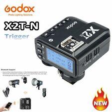 NEW Godox X2T-N TTL 2.4G Wireless Transmission Flash Speelite Trigger For Nikon