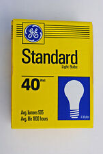 GE 4-Pack of 40-Watt A-19 Standard Inside Frosted Light Bulbs 120-Volt 1,000-Hrs