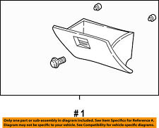 FORD OEM-Dash Glove Compartment Box Door 1L2Z7806024AAC