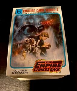 Empire Strikes Back 1980 Trading Cards 2nd Series COMPLETE SET MINT!