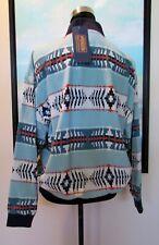 Pendleton Portland Collection Oregon Silk Bomber Jacket Sz M