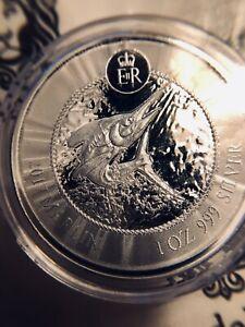 2017 Cayman Islands Marlin 1 oz Silver Coin BU (Mint Sealed)