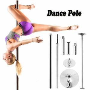 Portable Stripper Dance Pole Dancing Spinning Static Dancer Fitness Powertrain
