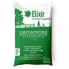More details for elixir growmore 07-07-07 special blend all round general purpose fertiliser 25kg