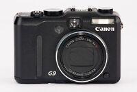 Canon Powershot G9 Digitalkamera Kamera schwarz