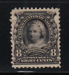 1902 Martha Washington XF Sc 306 MHRs  CV $45