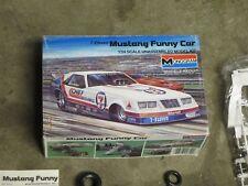 Vintage Monogram 7-Eleven Mustang Funny car model car kit