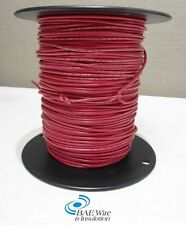 18 AWG UL1015 MACHINE TOOL WIRE - RED - 500 FEET