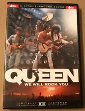 Queen We Will Rock You 25 Track Dvd Very Rare DTS USA DVD Freddie Mercury 2001