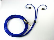 Cadence Series Replacement Cable for Shure SE315, SE425, SE535 & UE900 (BLUE)