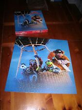 GREAT MUPPET CAPER jigsaw puzzle hot-air balloon Gonzo 1981 Kermit & Fozzie Bear
