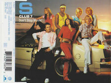 S CLUB 7 DON`T STOP MOVIN` CD SINGLE 3 TRACKS & VIDEO CD-ROM