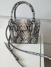 Mango Snakeprint Bag