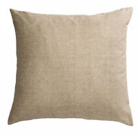 DECORATIVE Cushion Covers LUXURY HEAVY WEIGHT FABRIC Plain Cotton NEW AMAZING!!!