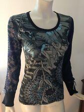 Desigual Cardigans Pour Sur Pulls Bleus Ebay FemmeAchetez Et fyYgb67