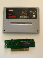 Mortal Kombat 3 Video Game for Super Nintendo SNES PAL TESTED!