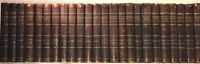 LEATHER Set;SIR WALTER SCOTT,WAVERLY NOVELS!Complete ANTIQUARIAN(1857)ABBOTSFORD