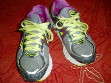 Saucony shoes (9.5 W) lime green/grey/magenta