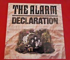 THE ALARM  DECLARATION STEREO VINYL LP  RECORD w/PHOTO/LYRIC SLEEVE VTG 1984