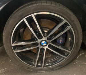 BMW 1 2 SERIES F20 F21 SHADOW M SPORT 18 INCH REAR ALLOY WHEEL 8074186 8009703 #
