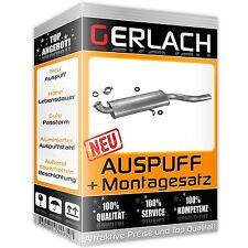 Auspuff Audi Coupe 80 90 1.6 1.8 1.9 2.0 2.1 2.2 2.3 81-91 Endschalldämpfer 1006
