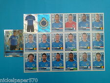 Topps Champions League 2016-17 2017 Team Brugge 2016 2017 completo