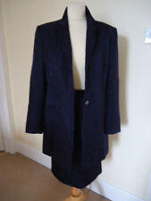 PLANET NAVY BLUE SPARKLE SKIRT SUIT