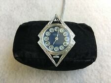 Vintage Swiss Made Chalet Wind Up Necklace Pendant Watch