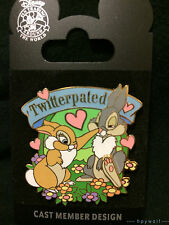 Disney THUMPER & MISS BUNNY Twitterpated Create-A-Pin LE 500 Pin bambi