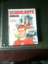 Schoolboys Annual, Children's Annual, Published 1967, Vintage Book,