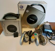 Nintendo GameCube Platinum Console w/memory card - COMPLETE IN BOX! - TESTED