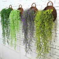 Artifical Hanging Fake Flower Ivy Vine Garland New Home Wedding Q4Z9
